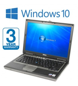 Dell D630 Laptop, 3 Year Warranty,  Widescreen , Windows 10, 4GB Memory, 500GB HDD