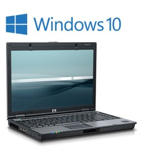 HP Compaq 6910p Windows 10 Laptop, 2GB, Wireless, DVD