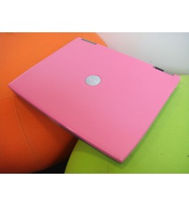 Pink Dell Latitude D600 Laptop