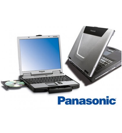 Panasonic Toughbook CF-52 Laptop, Rugged, 4GB RAM, Intel Core 2 Duo, Serial, Wireless, Windows XP