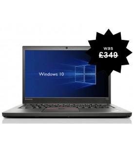 Lenovo Thinkpad T450 Laptop i5 2.30GHz 5th Gen 4GB RAM 500GB HDD Warranty Windows 10 Webcam